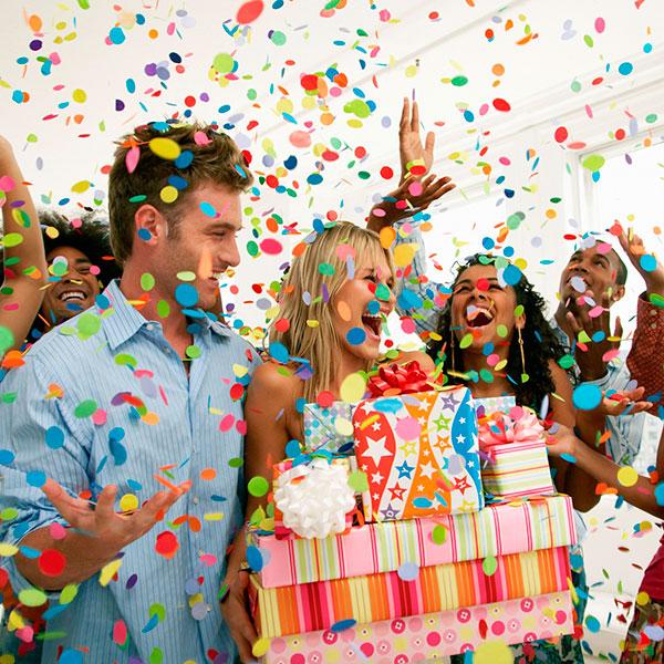 Веселая вечеринка-сюрприз