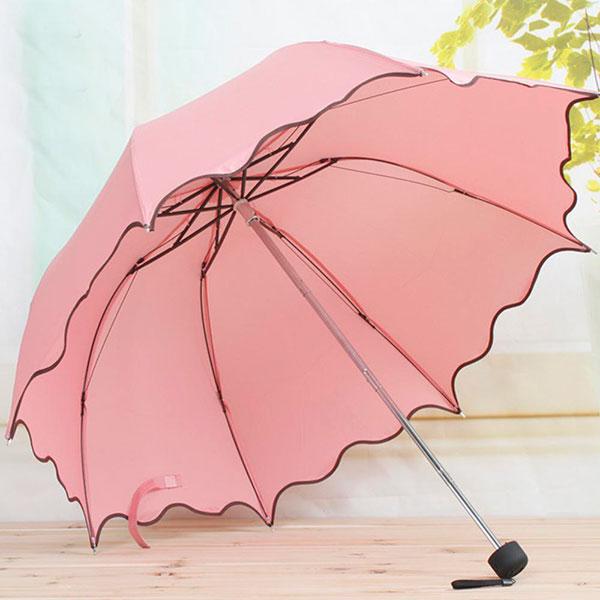 Удобный красивый зонт