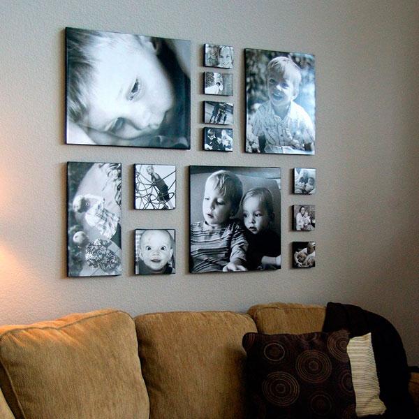 Фотоколлаж на стекле или холсте