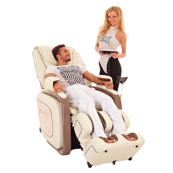 Классное массажное кресло