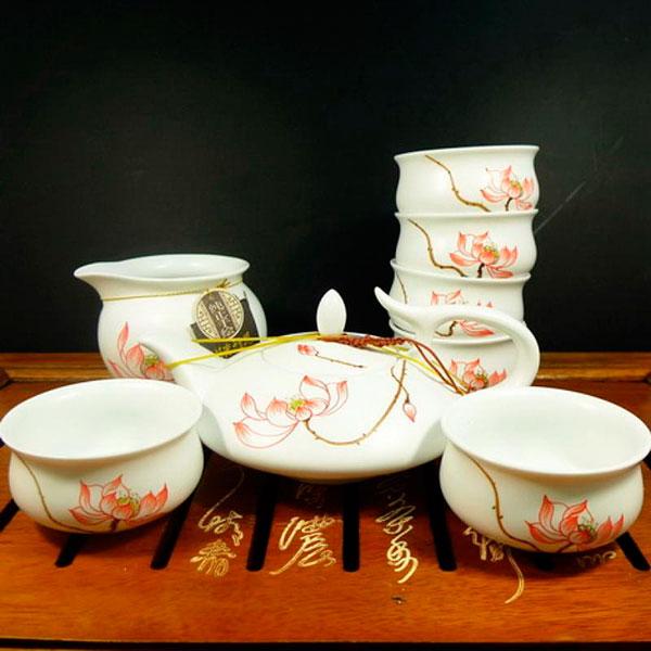 Набор для чайной церемонии из фарфора