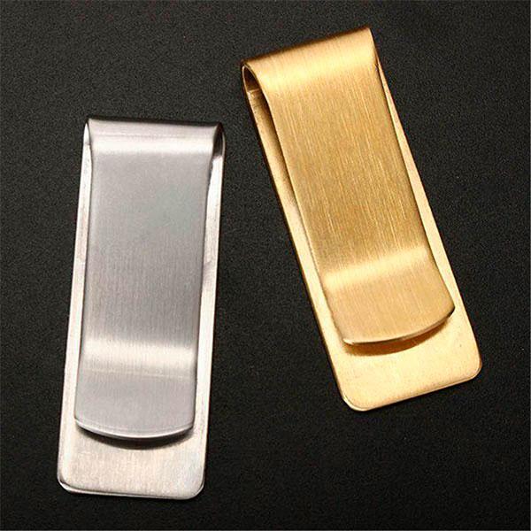 Золотые или серебряные зажимы для купюр