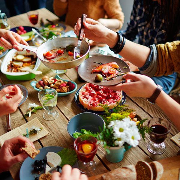 Праздничный обед в любимом ресторане
