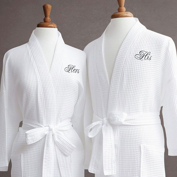 Набор банных именных халатов для ваших родителей