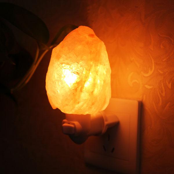 Соляная ночная лампа