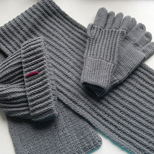 Шарф, перчатки, шапка