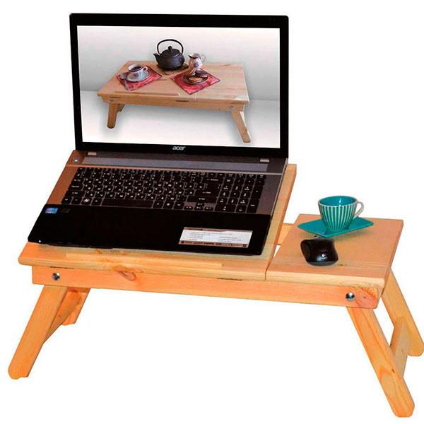 Удобный столик-подставка для ноутбука
