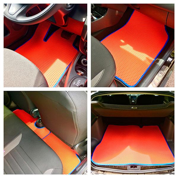 Новые коврики в автомобиль