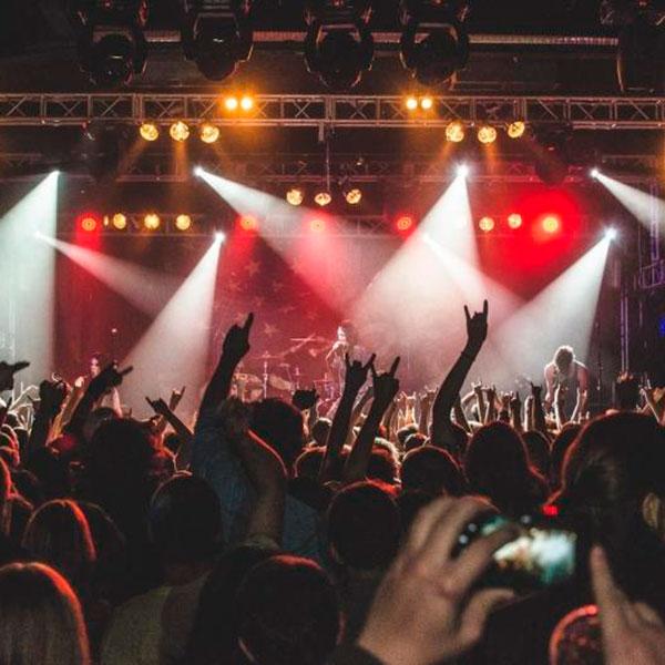 Посещение рок-концерта или другого события