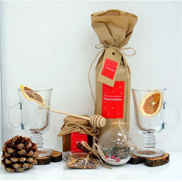 Специальный набор для приготовления ароматного и вкусного глинтвейна