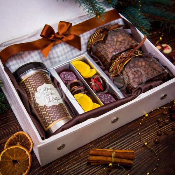 Ароматный кофе или чай в подарочной упаковке