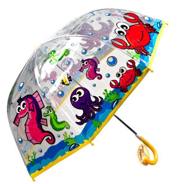 Красивый зонт с необычным принтом