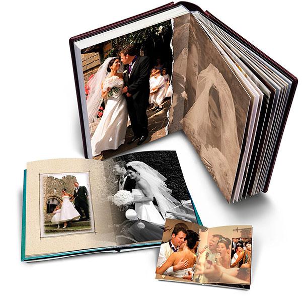 Альбом, заполненный совместными фотографиями