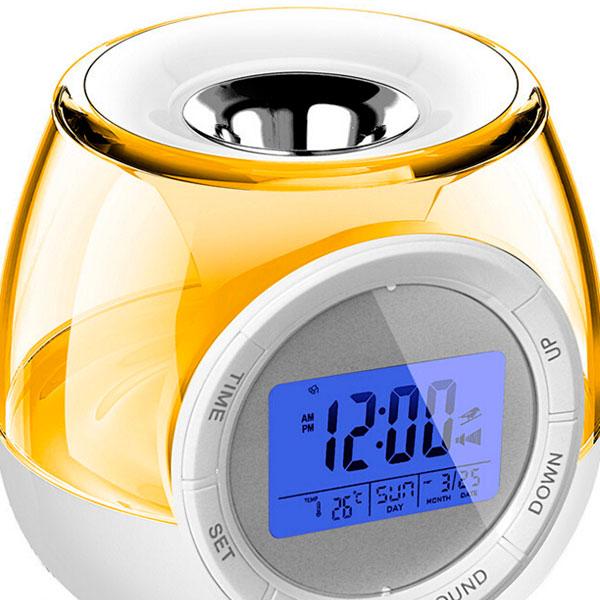 Необычный будильник в виде аромолампы с USB-подключением