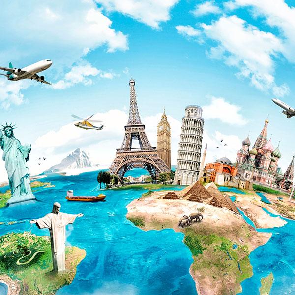 Туристическая поездка в те места, о которых мечтает виновник торжества