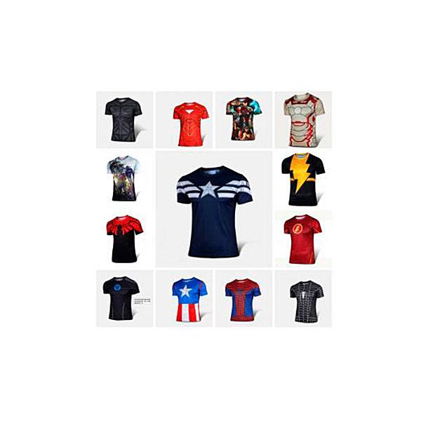 Супергеройские футболки