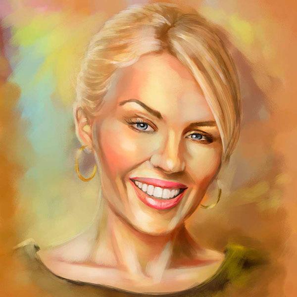 Классный портрет женщины по фото