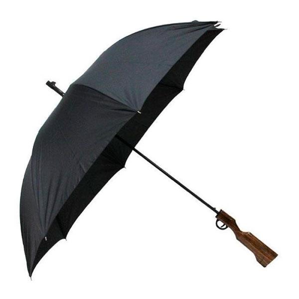 Зонт в виде ружья «Против дождя»