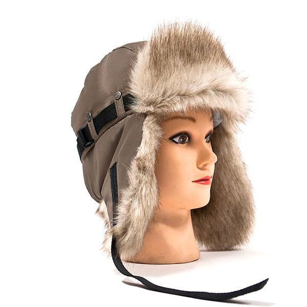 Меховую шапку-ушанку или зверошапку