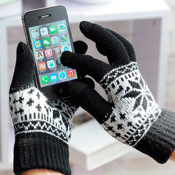Перчатки для смартфона