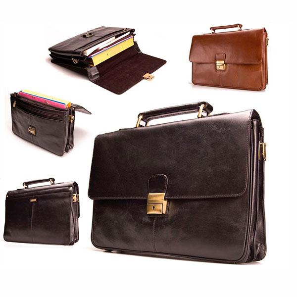 Кожаный портфель или дипломат
