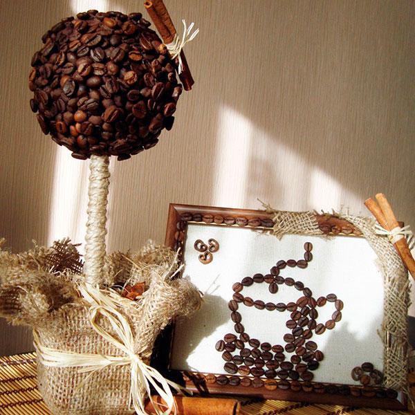 Кофейный топиарий.
