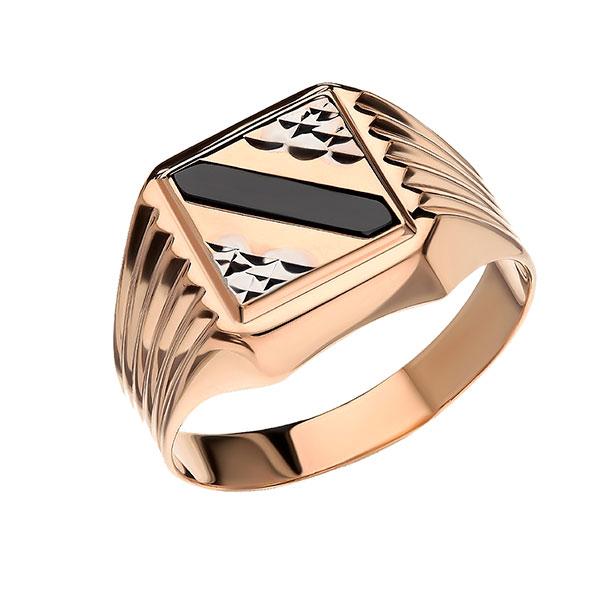 Кольцо-печатка из драгоценных металлов