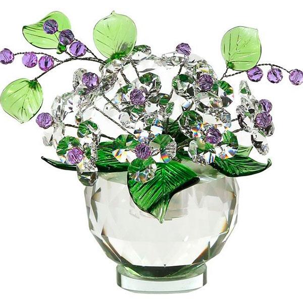 Хрустальный букет из аленьких цветочков