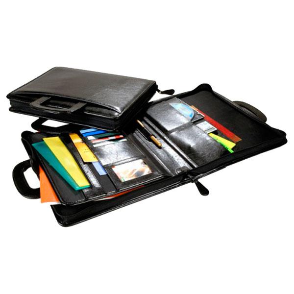 Хорошая и вместительная папка для документов и канцелярии