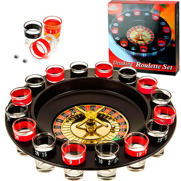 Увлекательная игра «Пьяная рулетка»