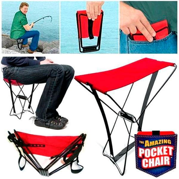 Карманный раскладной стул