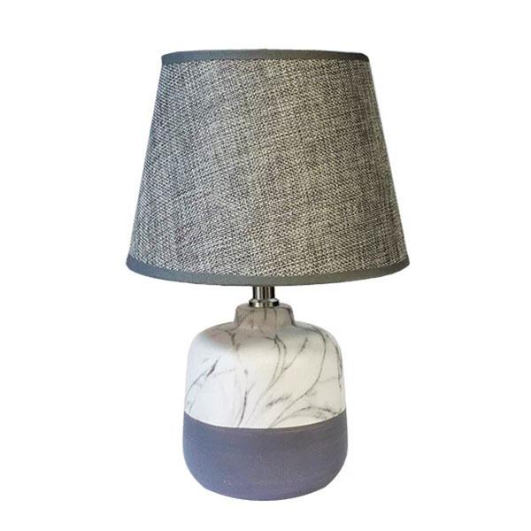 Настольный светильник из мрамора