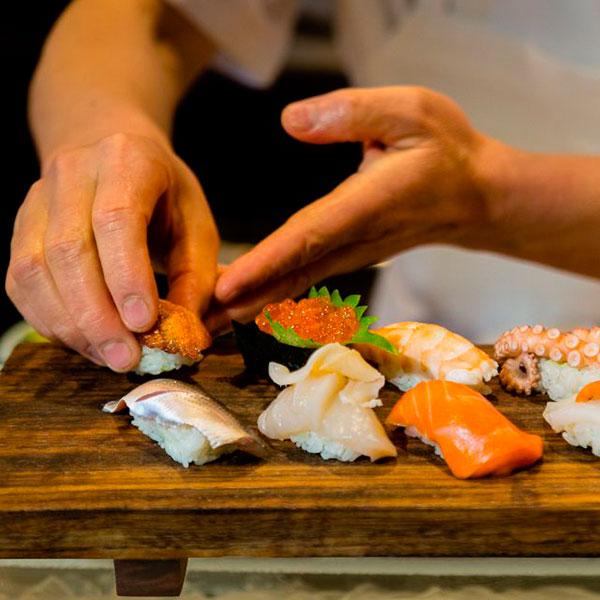 Урок приготовления суши
