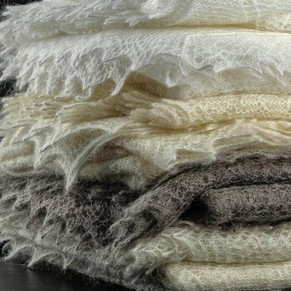 Настоящий пуховой платок