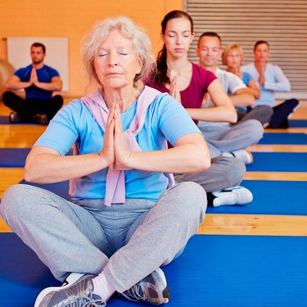 Годовой абонемент на йогу или дыхательную гимнастику