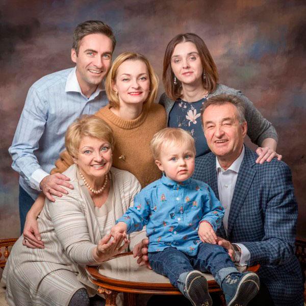 Сертификат на семейную фотосессию