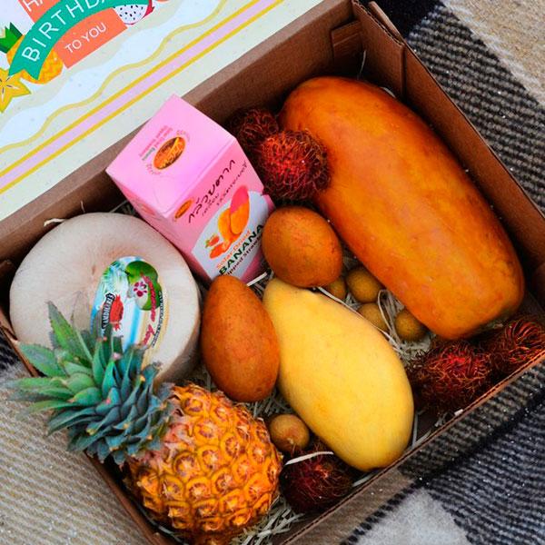 Наборы экзотических фруктов