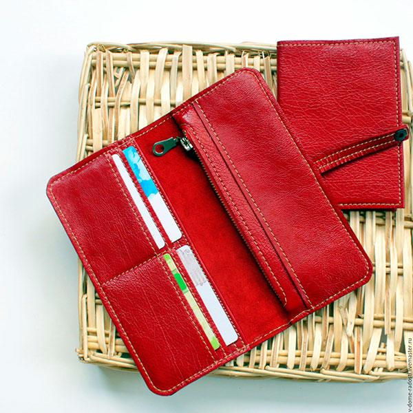 Красивый кошелёк из качественного материала