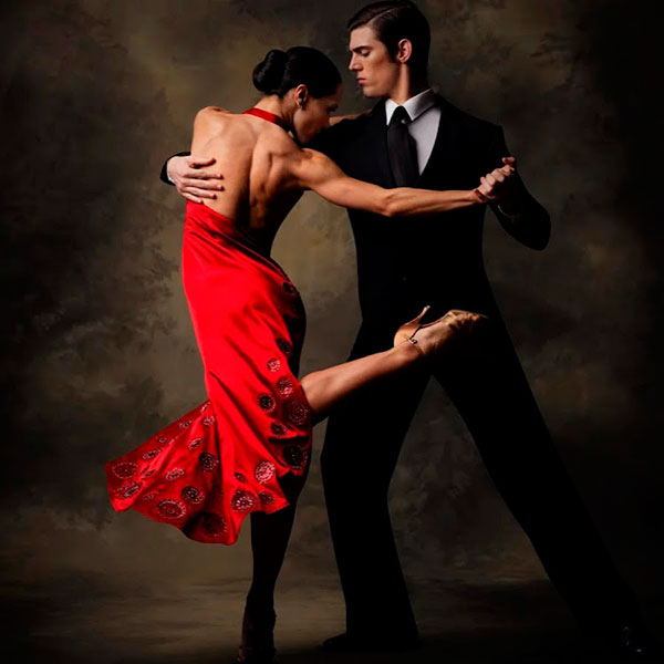Урок парного танца