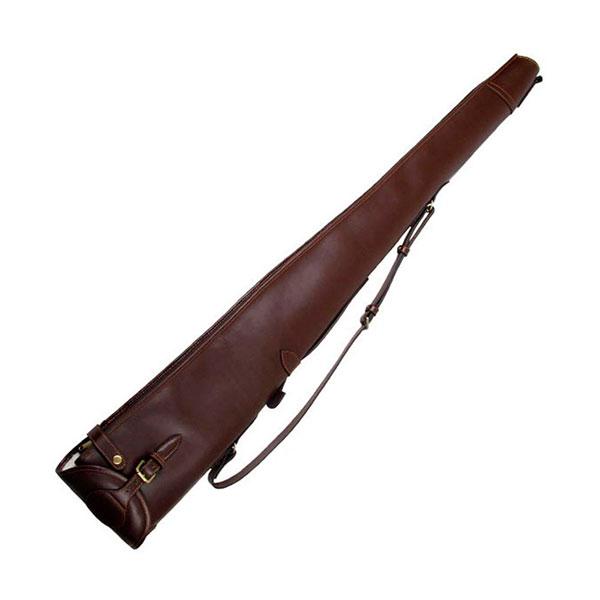 Охотничье ружье в чехле с именной гравировкой