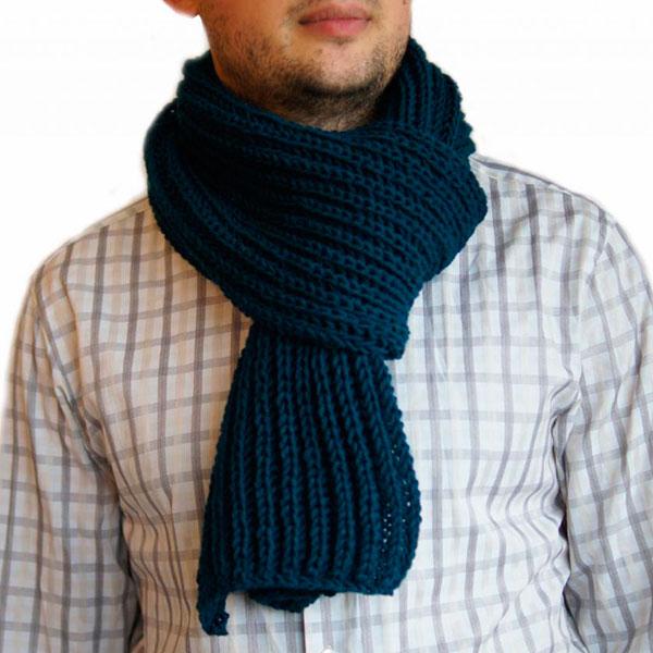 Связанный вами шарф
