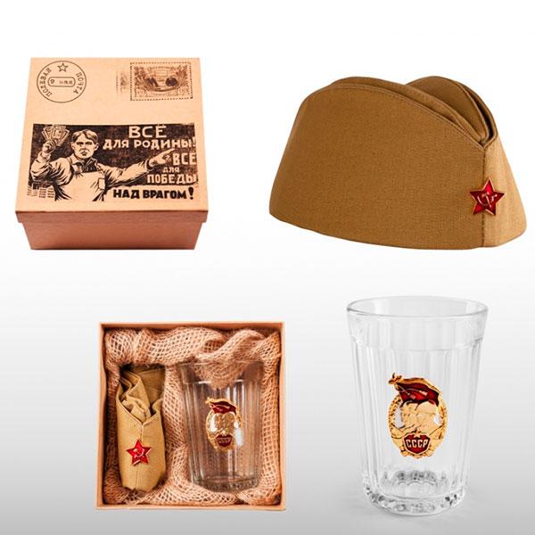 Подарочный набор под названием «Посылка на фронт»