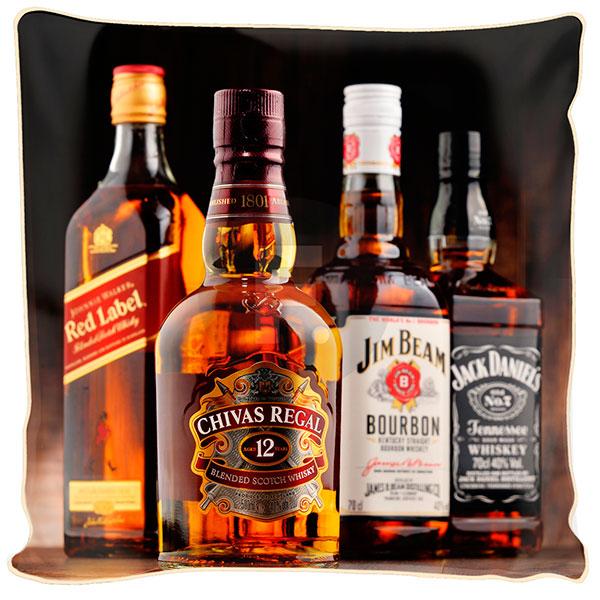 Бутылка элитного алкоголя