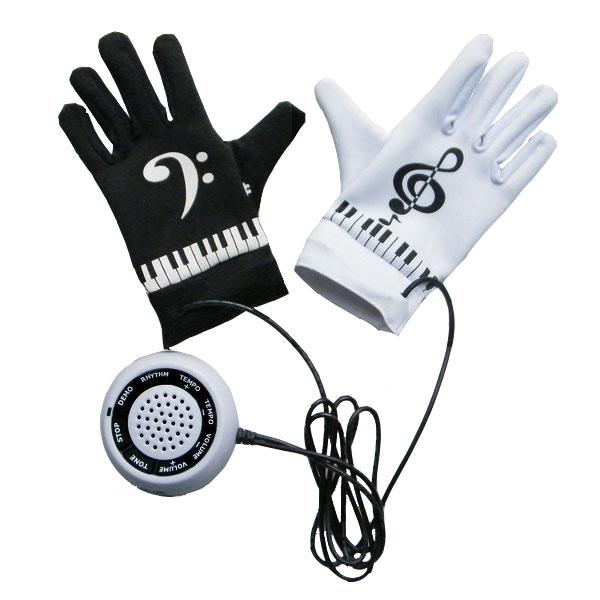 Необычные музыкальные перчатки