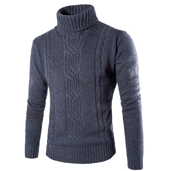 Вязаный свитер для холодных зимних дней