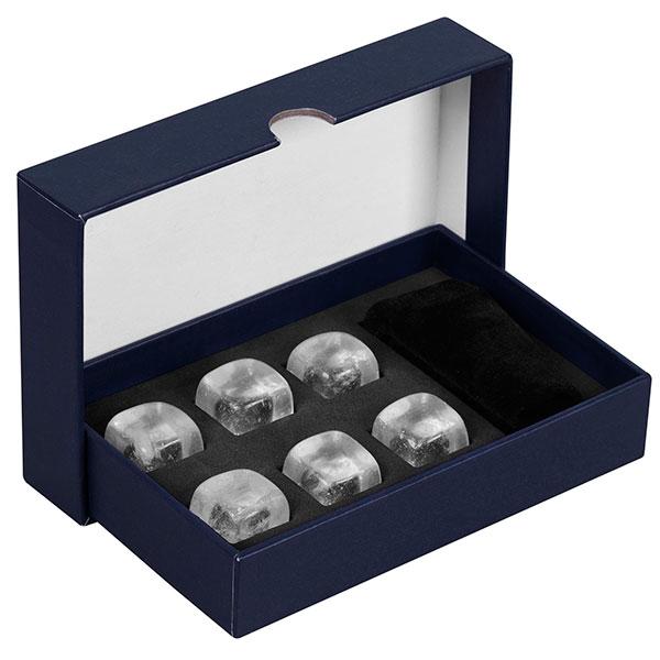 Красиво упакованные охлаждающие камни для алкогольных напитков
