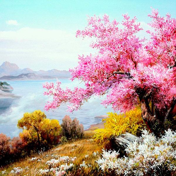 Картина с шикарным пейзажем