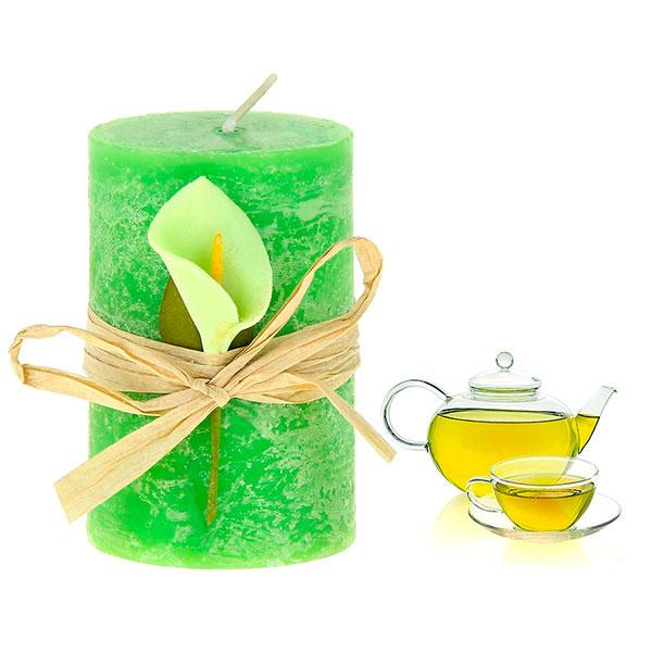 Декоративная ароматическая свеча