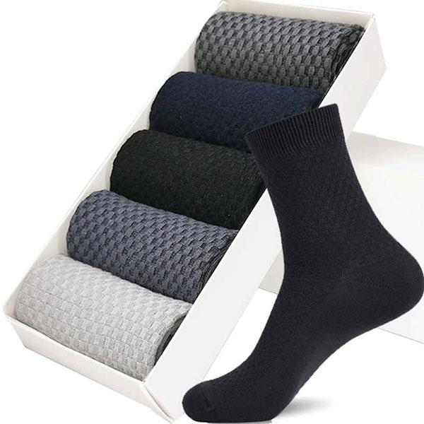 Пара высококачественных бамбуковых носков