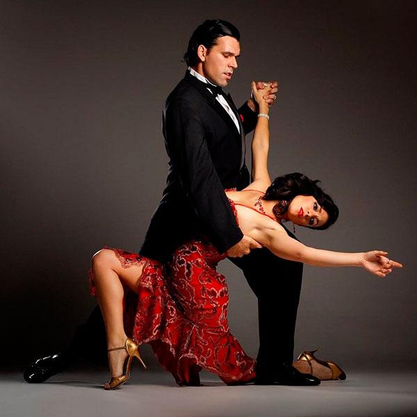 Урок зажигательного аргентинского танго